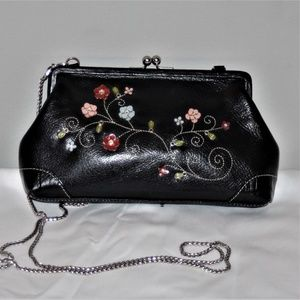 CUTE BRIGHTON CLUTCH PURSE W/CHAIN